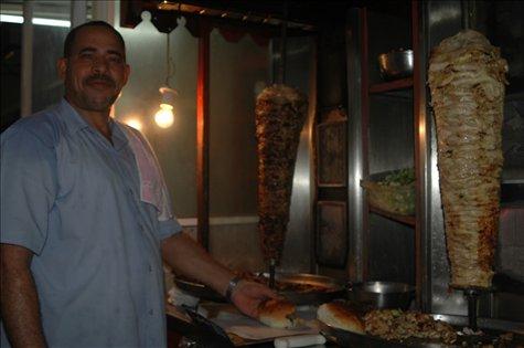 Shawarma en Sur