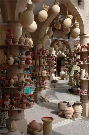Ceramicas en Nizwa