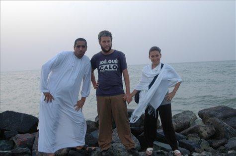 Con Hamaid en Muscat