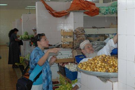 Mercado de frutas y verduras (Muscat) /Fruits and veggies market (Muscat)