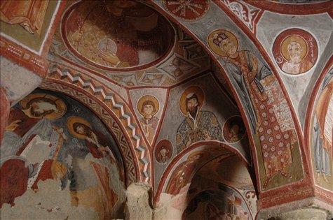 Monastery Goreme, Carppadocia, Turquia