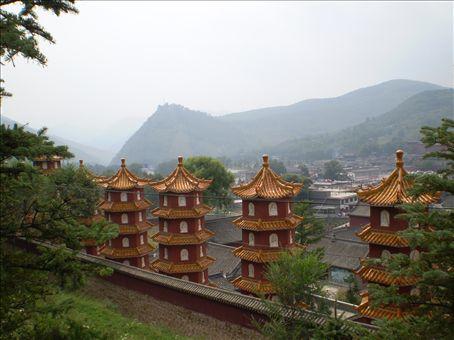 Otra vista de Wutai Shan... / Another Wutai Shan's view