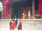 Teatrillo y budas en Wutai Shan / Theatre and buddhist in Wutai Shan: by gabyber, Views[316]