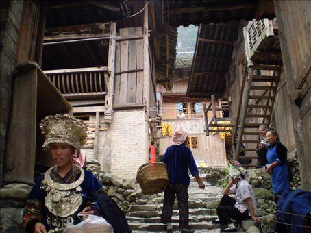 Langde, villa Miao / Miao village of Langde