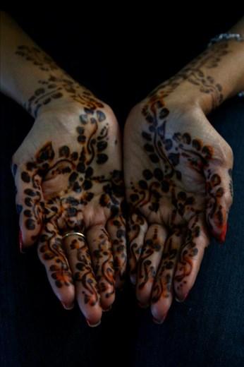 Henna- Jemaa el-Fnaa souk - Marrakesh, Morocco