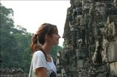face to face with Angkor Thom 200 individual faces carved into the temple.: by gem_sky, Views[217]