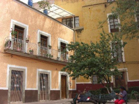 Guanajuato buildings