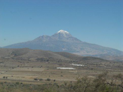 Pico de Orizaba - the highest mountain in Mexico