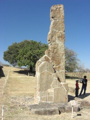 a sundial style stone