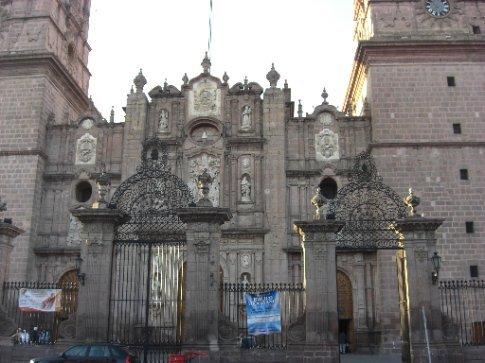 Beautiful buildings in Morelia