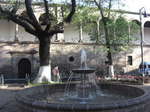 Fountain in Morelia