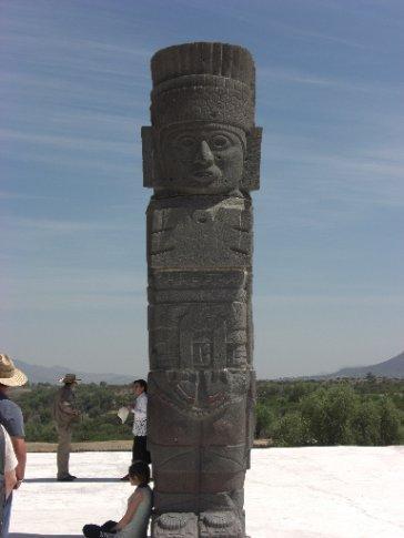 Stone warrior at Tula