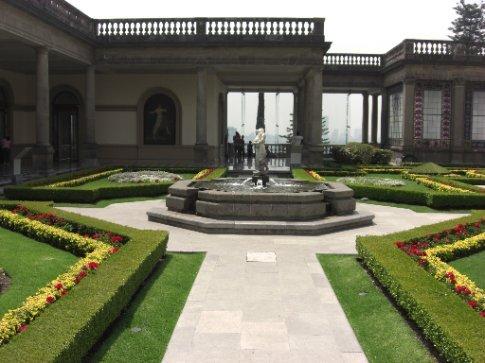Gardens in Chapultepec