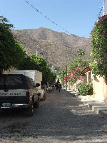 Street in Ajijic