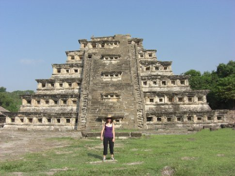 Me and the notched calendar pyramid