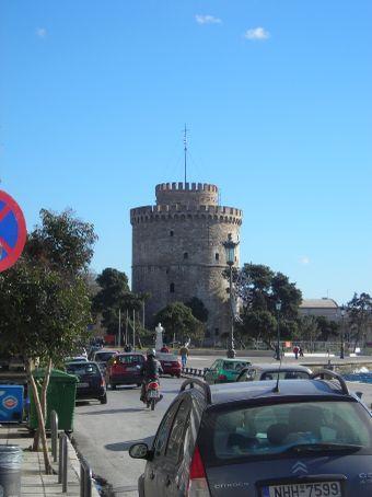 Thessaloniki.  White tower