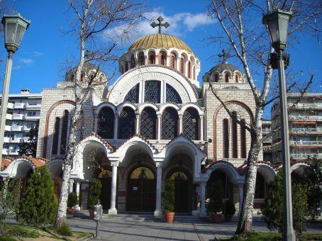 Thessaloniki.  Church