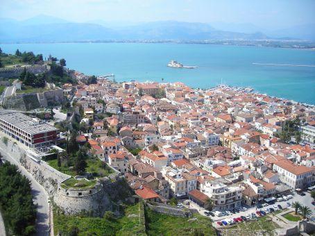 Nafplio town view