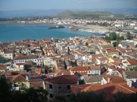 Nafplio town view.  Very pretty little town in the northern peloponese