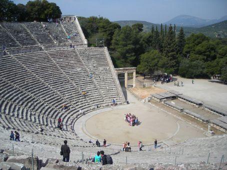 Theatre of Epidavros - near Nafplio