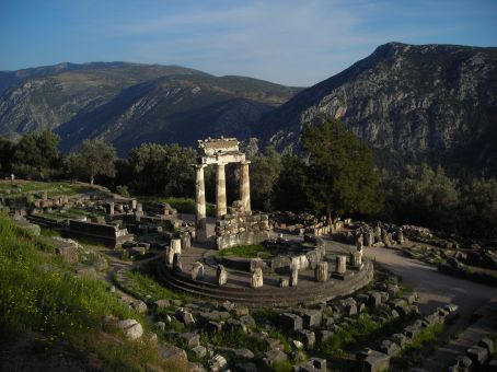 Delphi.  The tholos