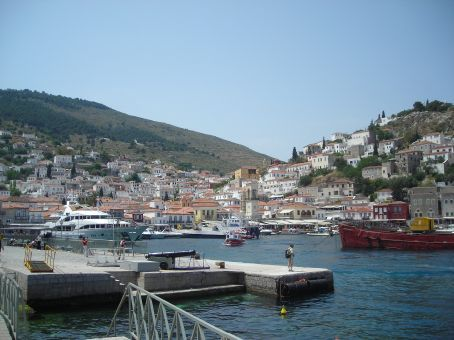 Hydra.  harbour view