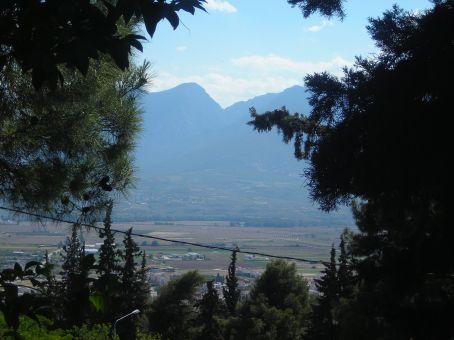 Lamia.  Agios Loukas hill