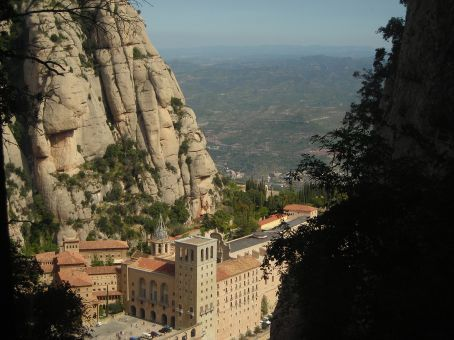 montserrat - from the funicular