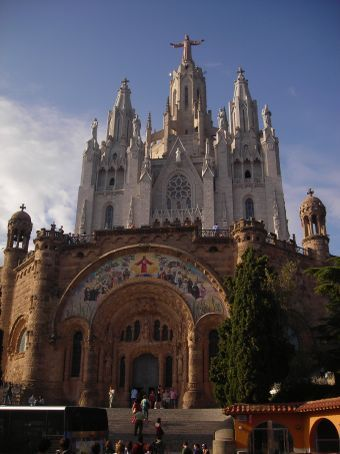 tibidabo cathedral