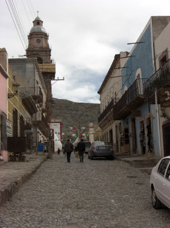 main street in Real de Catorce