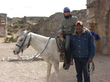 Ed, his horse and our guide