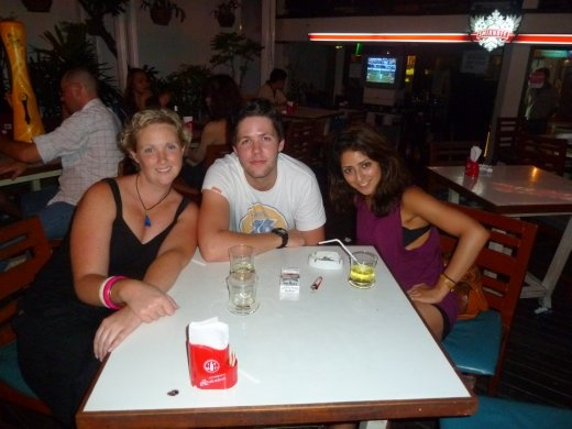 Me, Olli and Humeira - from the UK