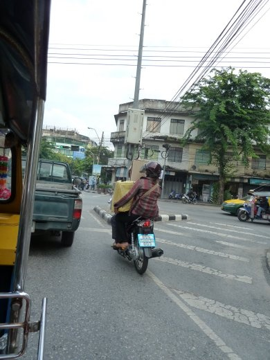 No health and safety in thailand. That' why it's so cool!
