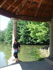 Me at Chateau Balaine, in the botanic gardens that surround it: by gendo, Views[188]