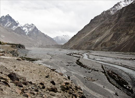 Shimshal, in northern Pakistan, is a high mountain herding village.