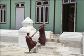 A visit to a monastery can give you an opportunity to see how monks live their daily life, which consists heavily of eat, study and pray. But linger a little longer, and you may be lucky to catch a glimpse of their playful antics as well… monks may be monks… but boys will always be boys! : by georgemac, Views[129]