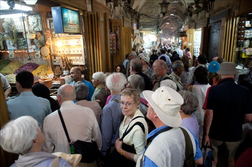 Hundreds of visitors, traders and shoppers would daily fill up the alleyways and famous covered streets of the souk. Today they lay deserted and in ruins.