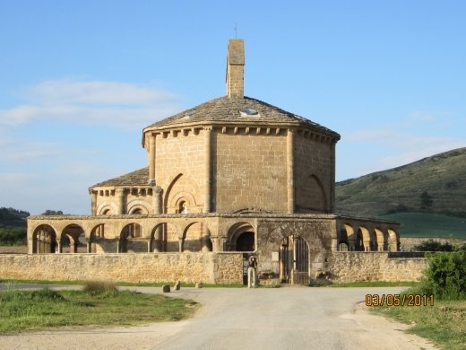 Eunate, a beautiful and mystical hermitage built by the Knights Templar in the 12th century