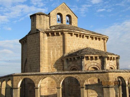 Santa María de Eunate hermitage. 12th century