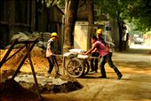 Man at work - Beijing Old Town: by gilacqua, Views[207]