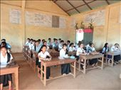 Class 10A at Sen Monorom High School - my last day : by gina_holley, Views[158]