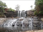 Top level of the waterfall in the dry season : by gina_holley, Views[820]