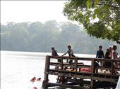 Swimming platform at the lake: by gina_holley, Views[198]