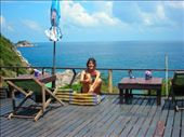peaceful place in koh tao ,,,only few bungalows ,and access in out only twice a day with 4 by 4: by gizmo, Views[256]