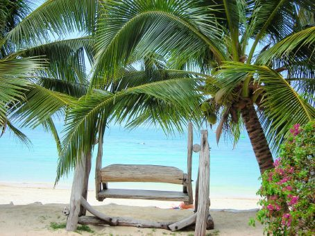 lidias think chair,,,right infront of our bungalow