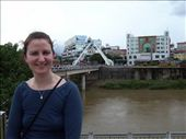 in front of the friendship brigde, border to china: by glimmerwing, Views[169]