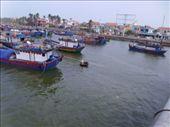 fishing boats on the river: by globalgabi, Views[108]
