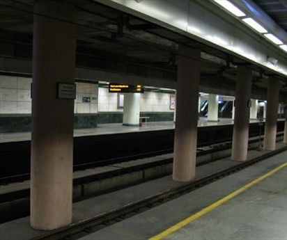 Clean Subway in Delhi