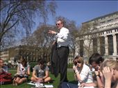 class outside with my British Life and Culture teacher: by globalspirit, Views[122]