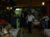 our evening out on Lefkada island. traditional greek dance.....smashed  plates..great  food and wine: by globetrottingwanabees, Views[528]